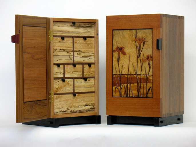 iris cabinet & another